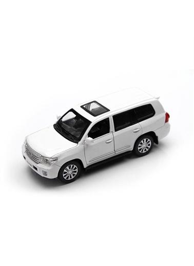 Vardem 1:32 Çek Bırak Sesli ve Işıklı Toyota Land Cruiser Renkli